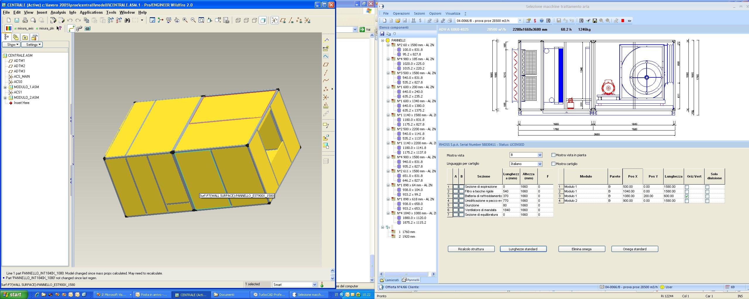 3d Unit Model Ahu Designer Software Diagram Generation Of A The Structure