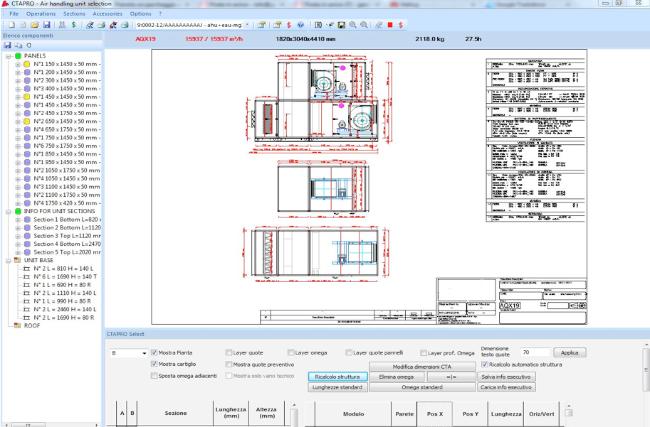The Air Handling Units Selection Software By Altec Srl