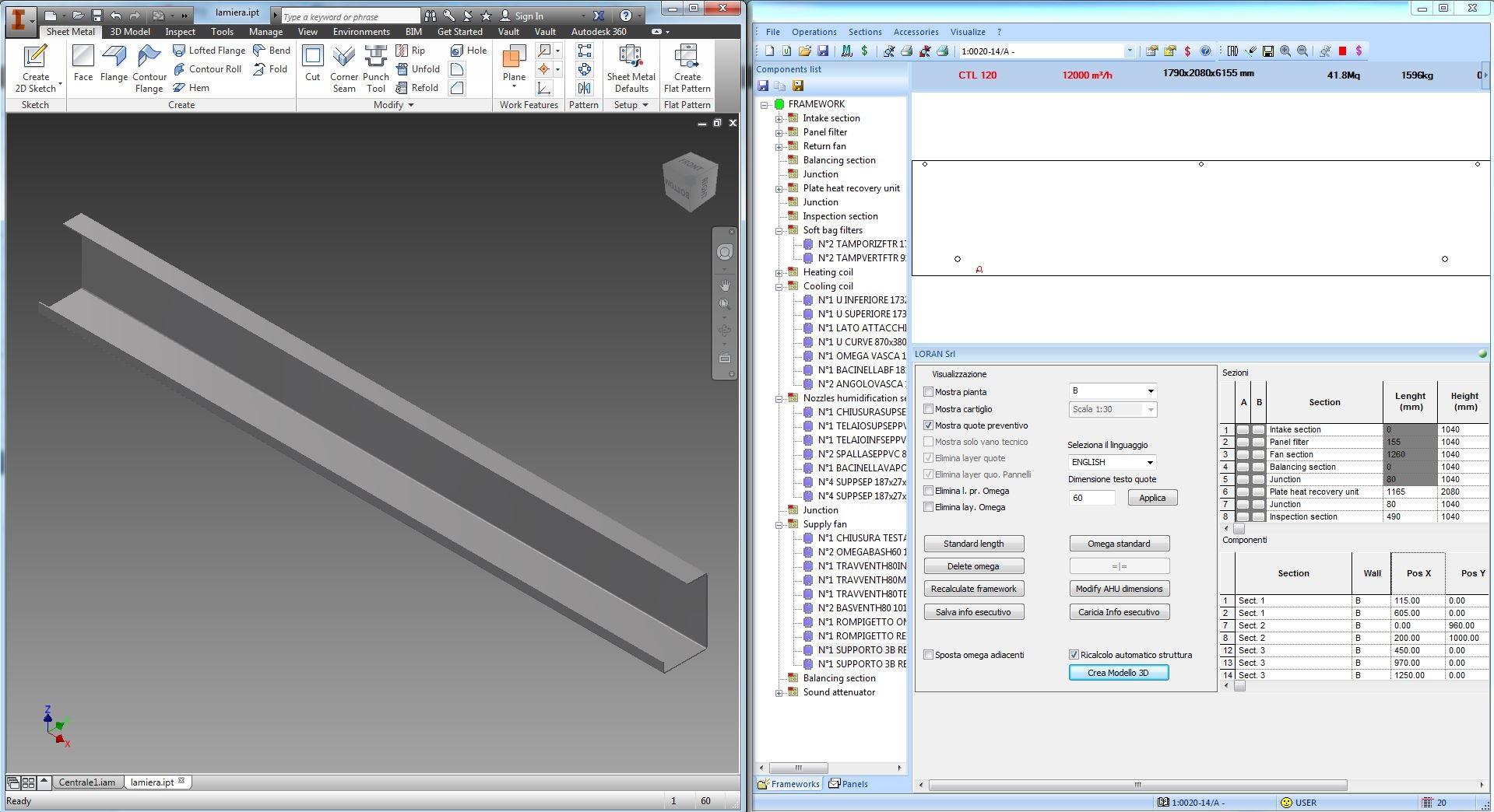 3D metal sheet
